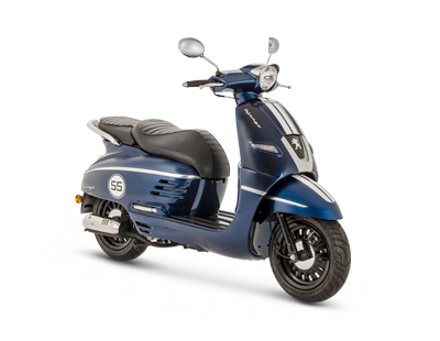 DJANGO 125 ABS BLUE - DJ125SYBS5 - Peugeot Motocycles